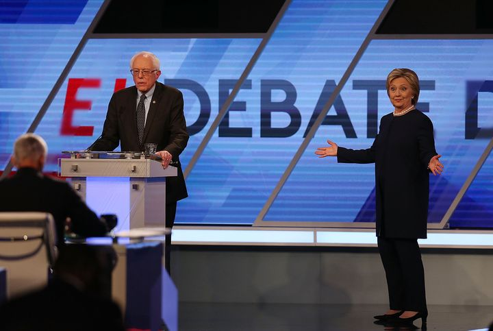 Bernie Sanders wants more debates with Hillary Clinton, which makes sense because he's currently losing.