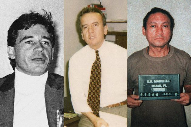 As a DEA informant, Carlos Toro (center, in the 1980s) gathered intelligence that helped take down such legendary figures as