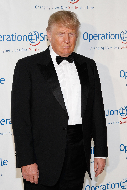 Like the fictional spy hero James Bond, Donald Trump wears tuxedos and has a healthy fear of pen grenades. Photo:Mark V