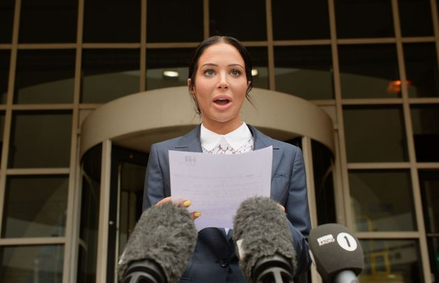 Tulisa appeared in court twice in