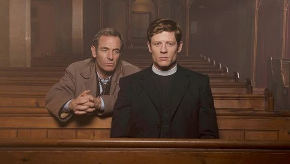 Geordie and Sidney Chambers (Robson Green and James Norton) have been drawn into conflict this series...