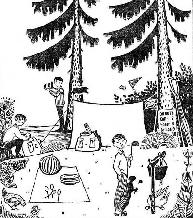 Adults Baffled By Kids' Camping Logic Puzzle That Requires Some Very Lateral