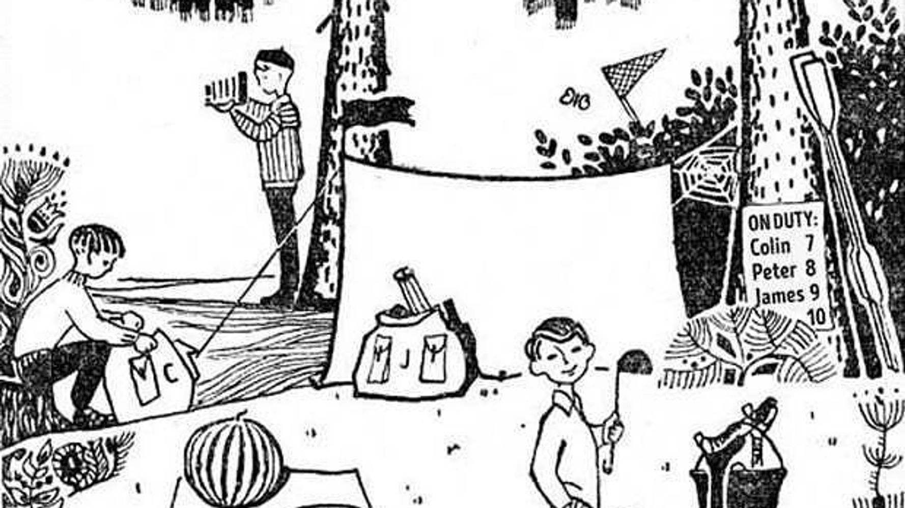 Can You Solve This Baffling Camping Logic Puzzle For Kids?