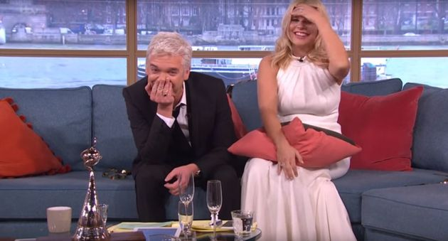 Phillip Schofield and Holly Willoughby were deeply hungover on 'This Morning' after the