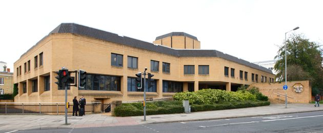 Billy Midmore is on trial at Southampton Crown Court (above) accused of throwing acid at a woman's