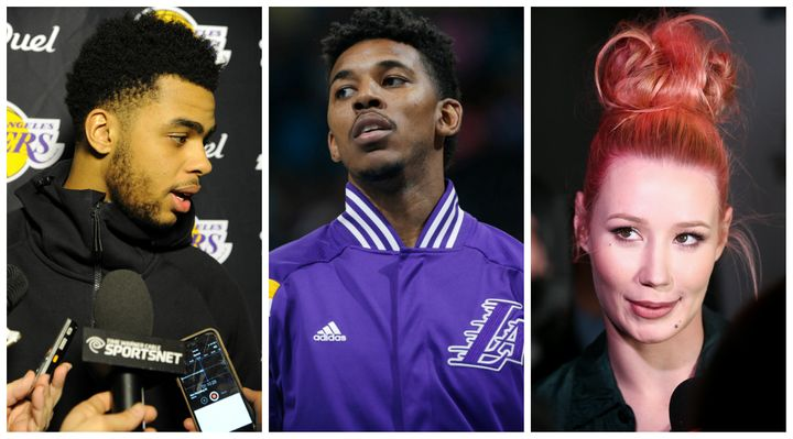 The Ridiculous Dangelo Russell Nick Young Iggy Azalea Drama