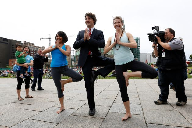 Canadian Prime Minister Justin Trudeau has been photographed performing all kinds of athletic feats over...