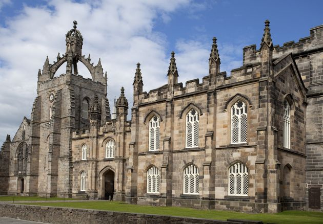 Aberdeen University said