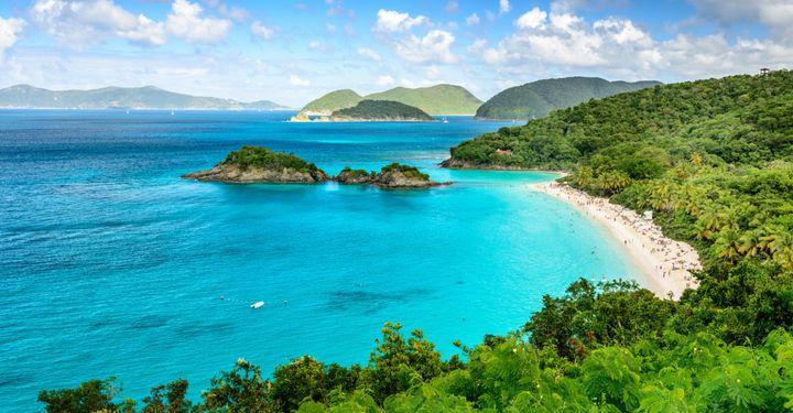 Trunk Bay Has Got To Be America S Most Secret Beach Paradise