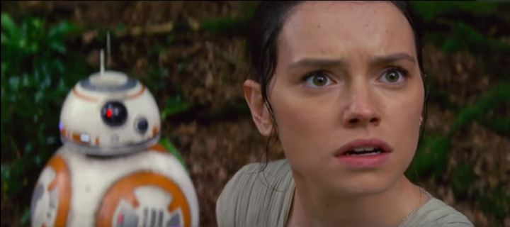 Daisy Ridley is as shocked as you are.
