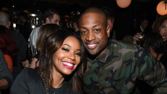 TORONTO, ON - FEBRUARY 11:  Gabrielle Union and Dwayne Wade attend the Stance and Dwayne Wade's Spade Tournament at The One Eighty on February 11, 2016 in Toronto, Canada.  (Photo by George Pimentel/WireImage)