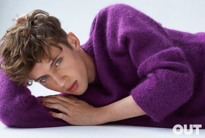 Pop singer Troye Sivan graces the cover of Out magazine's May issue.