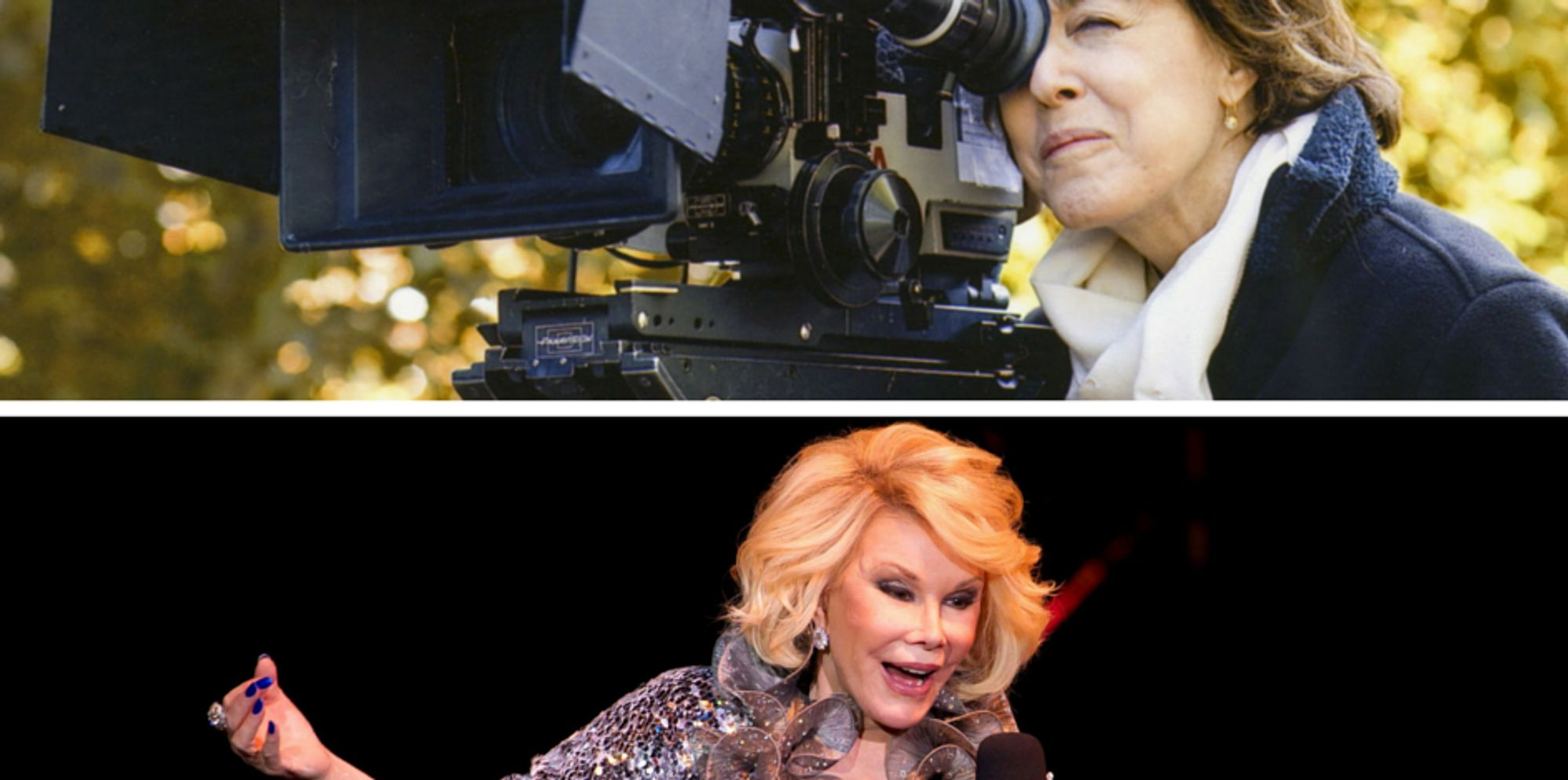nora ephron pictures videos breaking news two new documentaries extend joan rivers and nora ephron s legacies