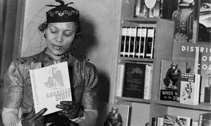 Zora Neale Hurston famously authored&nbsp;<i>Their Eyes Were Watching God.</i>