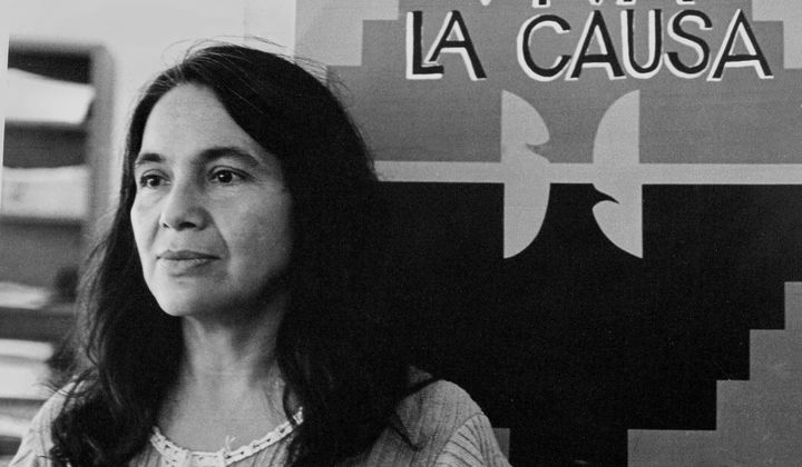 Dolores Huerta is a beloved Latina activist.