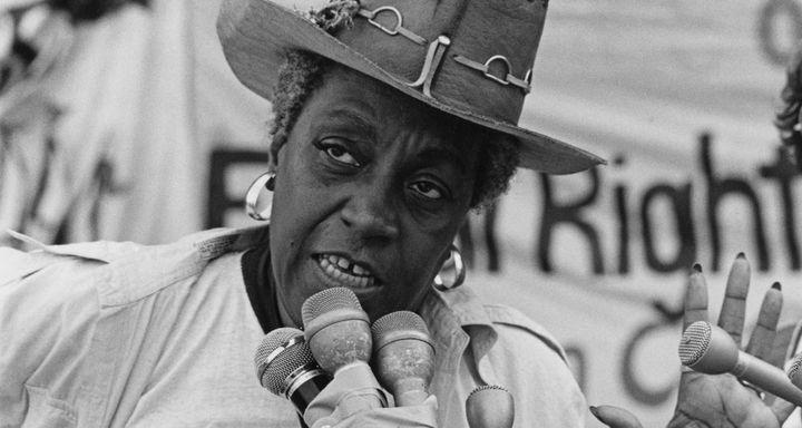 Flo Kennedy was a noted activist and lecturer.