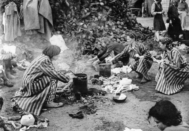 Holocaust survivor describes life in Nazi concentration