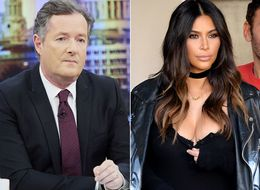 Piers Makes A Bold Declaration Over Kim's New Topless Snap