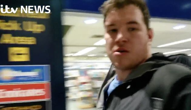 Ben Innes Video Footage Captures Moment (In)famous Hijack 'Selfie' Photo Took