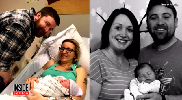 The brothers' wives both gave birth at 6.53pm on 20