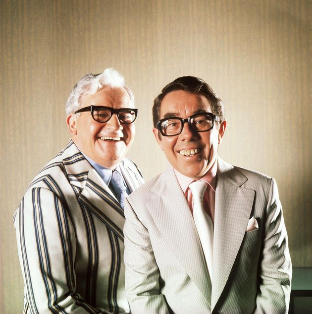 The two Ronnies in