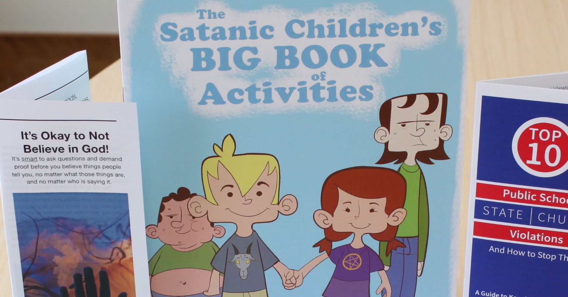 School District To Distribute Satanic Literature Students On April 1