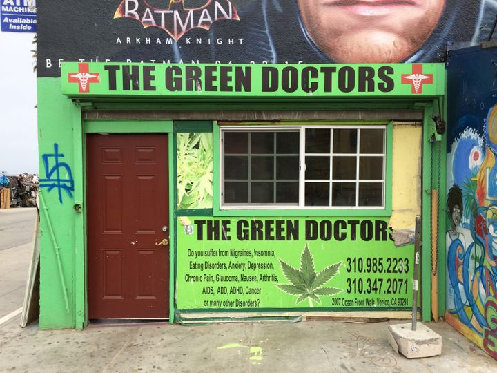 Green Doctors Writing Authorizations For Medical Venice Beach Ca July 3