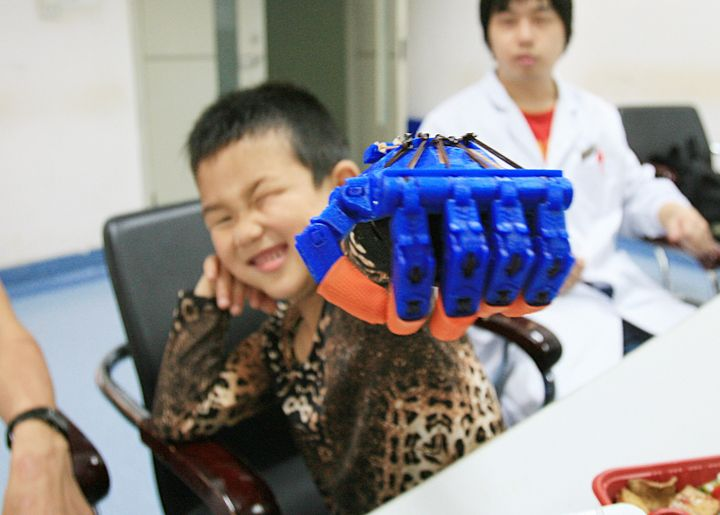 Longhua Funeral Parlor's 3D printing venture is part of Shanghai's implementation of the country'sFive-Year Plan, which