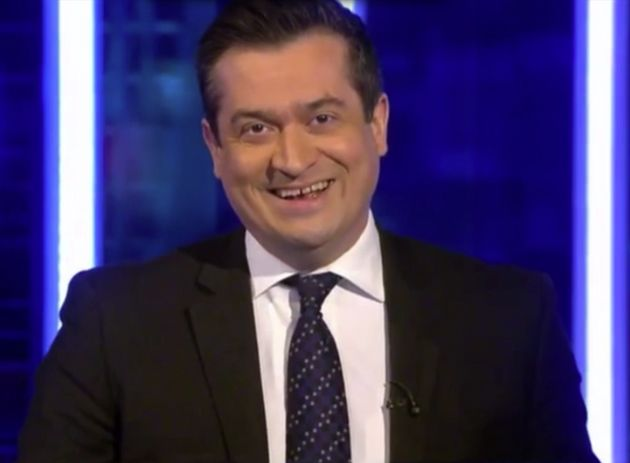 Sky News Presenter Niall Paterson Struggles To Read A Story About 'Great