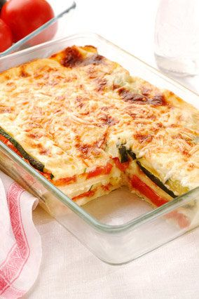 A handful of spinach leaves does not a vegetarian lasagna make -- which is why this take, exploding with veggies, is so wonde