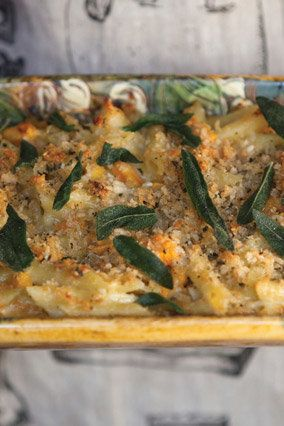 Butternut squash and sage are a tried-and-true pairing; together, they deliver rich flavor that rivals that of sausage or smo