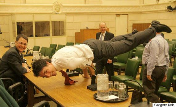 This photo of Justin Trudeau is going viral...