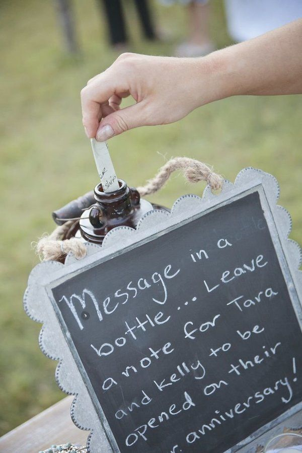 16 creative alternatives to the boring wedding guest book