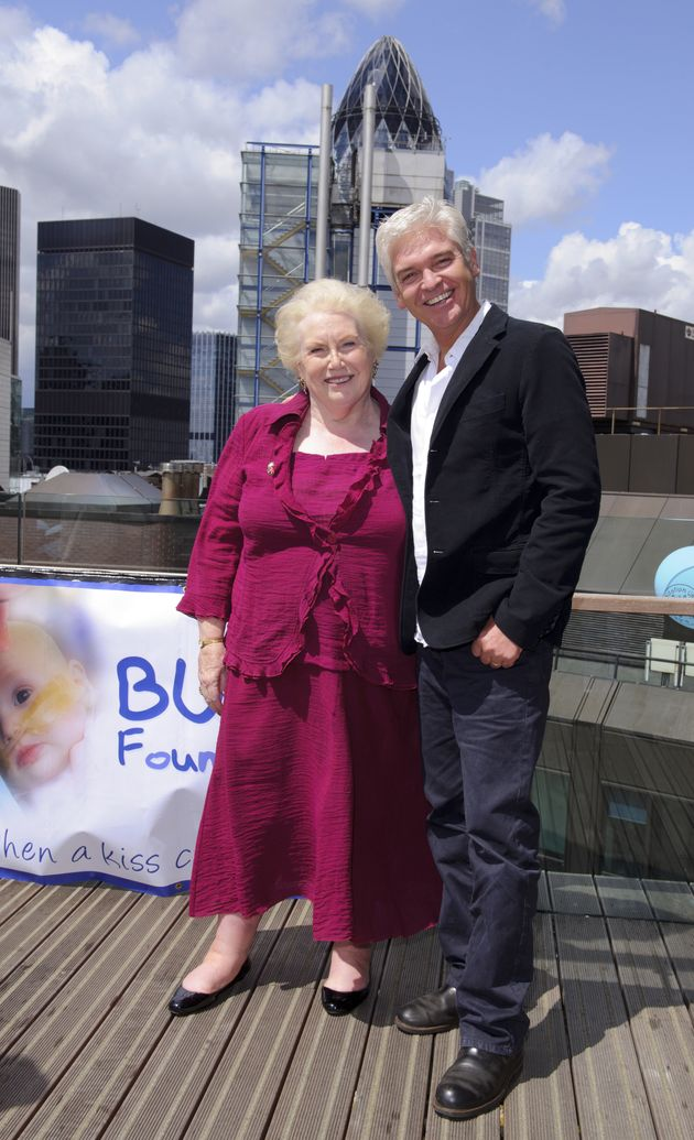 Denise Robertson and Phillip