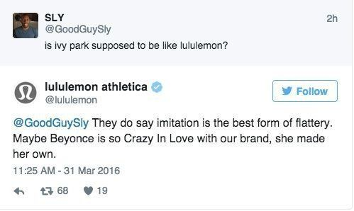 Lululemon Are In Big Trouble With Beyoncé
