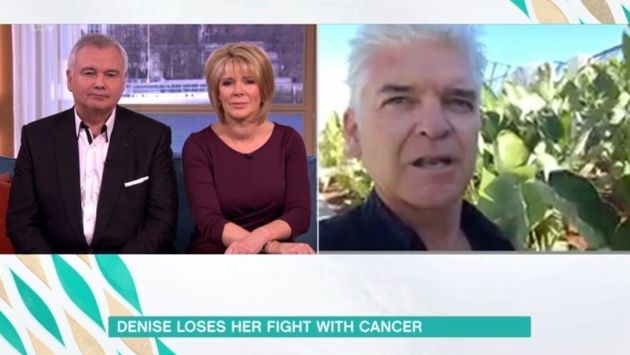 Phillip Schofield called in from his holiday to honour