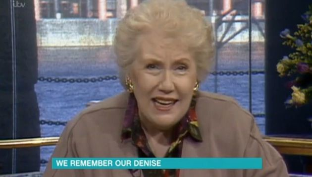 Denise Robertson helped a woman who had been locked in her house by her husband on 'This