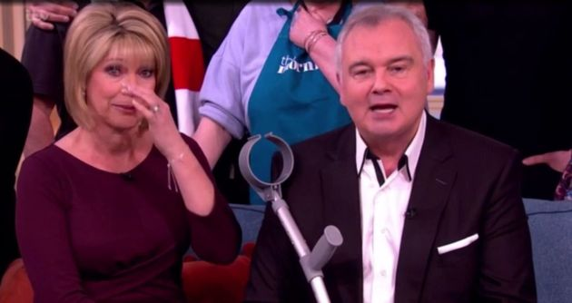 Ruth Langsford couldn't hide her tears at the end of Friday's 'This