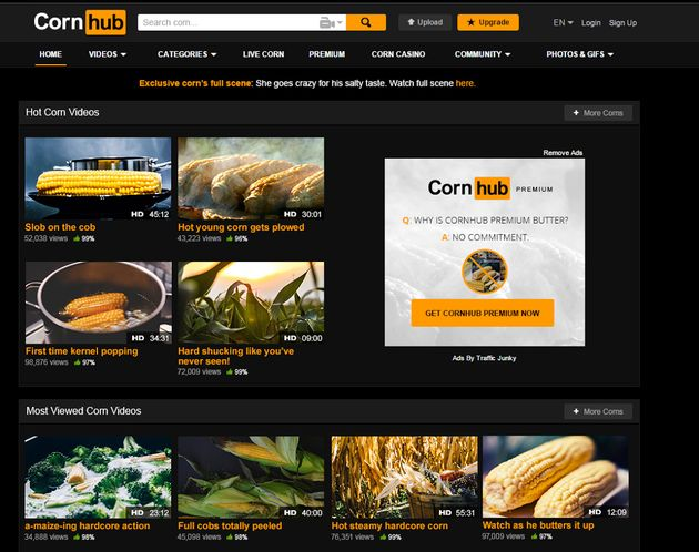 PornHub's April Fools' Day Prank Is The Best One We've