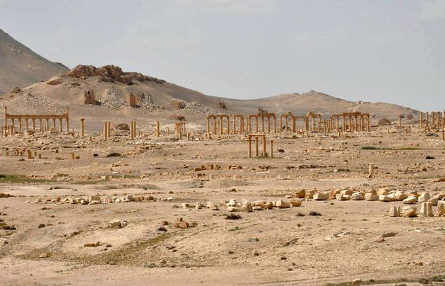 The historic city of Palmyra, of which the so-called Islamic State has lost