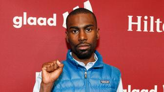 SAN FRANCISCO, CA - NOVEMBER 07:  DeRay Mckesson attends the GLAAD Gala at the Hilton San Francisco on November 7, 2015 in San Francisco, California.  (Photo by Kimberly White/Getty Images for GLAAD)