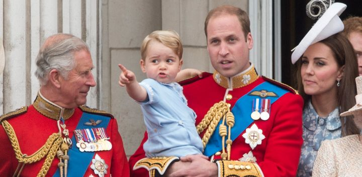 Prince George And Granddad Charles Bond In The Sweetest Way
