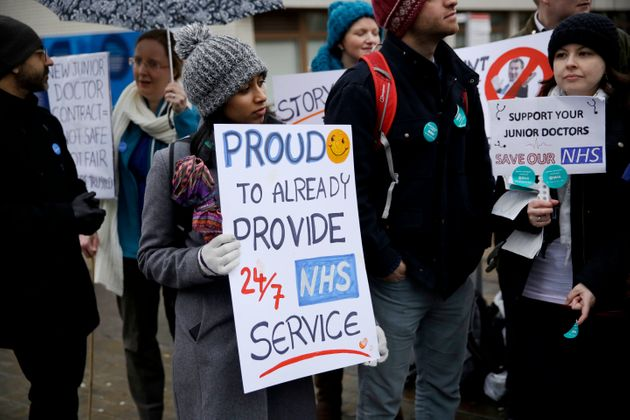 Junior doctors are striking over the forced changes to