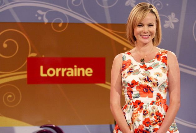 Mandy previously hosted 'Lorraine' in