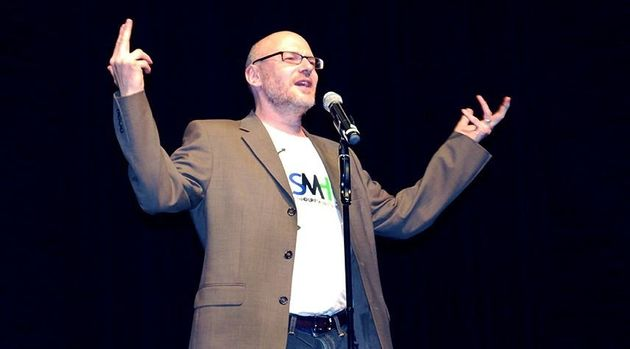 David Granirer, a trained counsellor and stand-up comic, teaches stand-up to people with a...