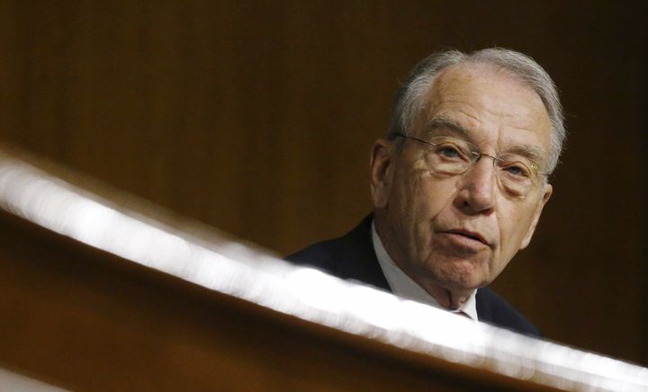 Chuck Grassley seems to think lame-duck senators can do things of consequence, but not lame-duck presidents.