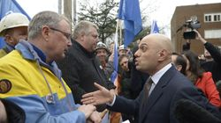 Port Talbot Steel Workers Calmly Probe Sajid Javid As Minister Admits There Will 'Certainly' Be