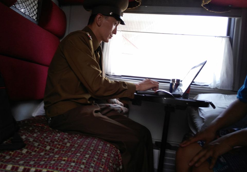 North Korean authorities, from train conductors to local police officers, can examine digital devices...