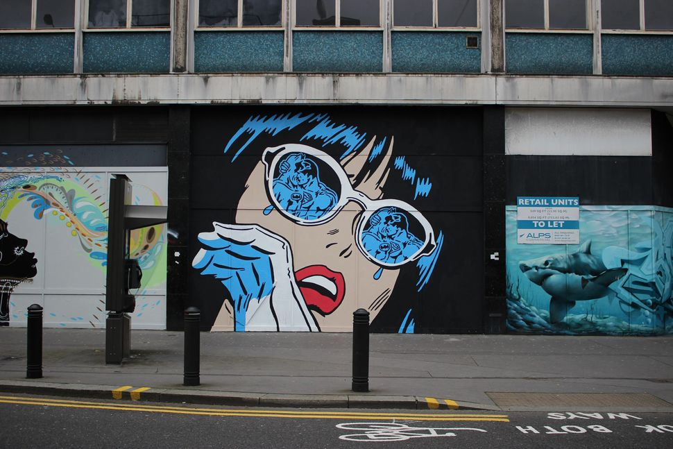Mural in London.