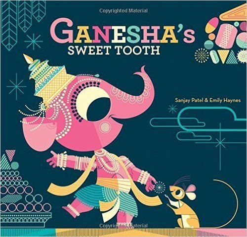 """[Ganesha is] a kid with a wicked sweet tooth, which combined with his hubris leads him to bite into a jawbreaker candy that"